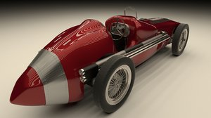 3D alfa romeo racing