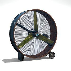 3D fan 1