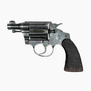 3D model colt detective special
