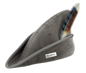 leather feather 3D