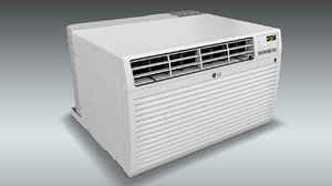 lg wall air conditioner 3D