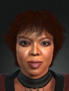 3D character design actor oprah