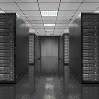Server Room Black