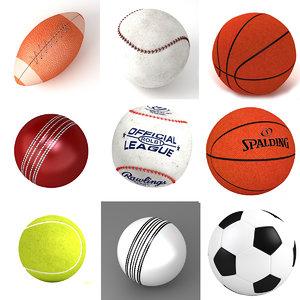 balls 2 3D model