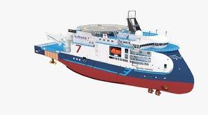 3D ship vessel