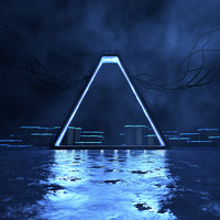 Neon Science Fiction Environment