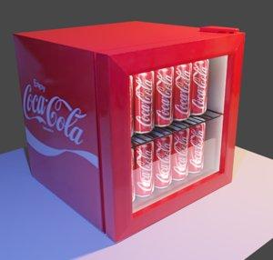 coca cola vendor 3D model