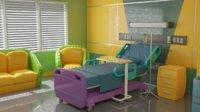 Cartoon Hospital Room