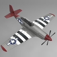 3 North American P-51 Mustang L665