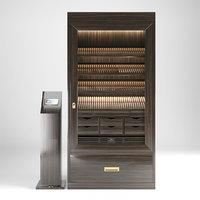 HUMIDOR GERBER cigar cabinet