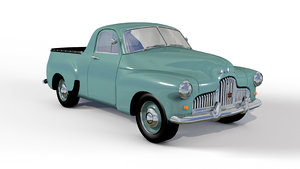 holden 1952 ute pickup 3D model