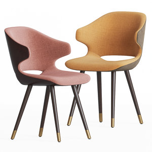 3D contract chair company magda