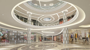 shopping mall 2 model