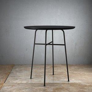 afteroom cafe table - 3D model