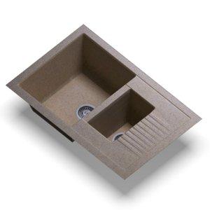 sink polygran f-21 sand 3D model