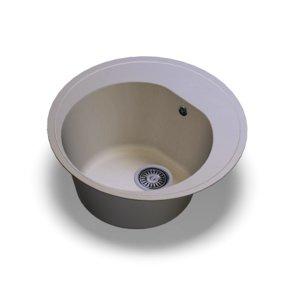 sink polygran f-08 cotton 3D