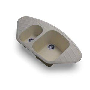 3D model corner sink polygran f-14