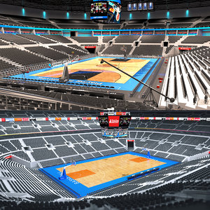 3D basketball arenas