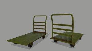 3D model trolley 2