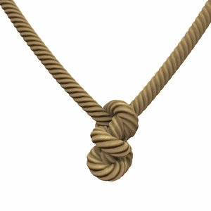 rope knot 3D model