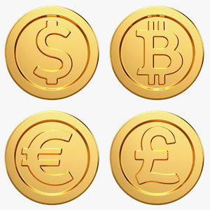 bitcoin coin money 3D