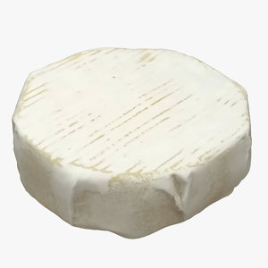 cheese dairy food 3D model