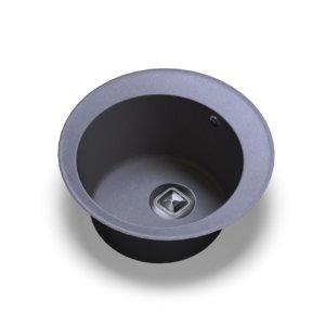 sink polygran r-108 grey 3D