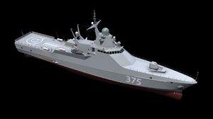 3D model project 22160 patrol ships