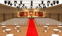 Meeting Hall and Stage 025