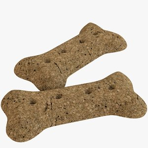 3D dog biscuits