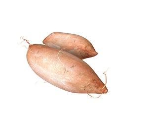 3D potato