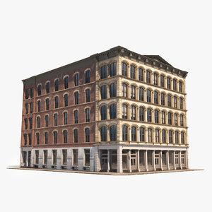 soho facade 5 architecture 3D