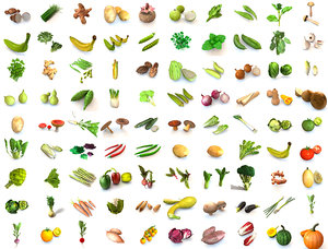 vegetables 3D