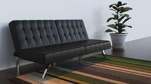 3D sofa bed