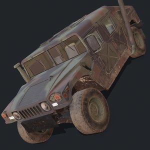 3D military vehicles model
