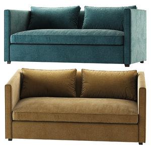 3D model torrey sofa