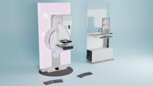 3D mammography equipment imaging
