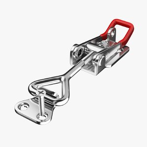 pull-action latch toggle clamp 3D