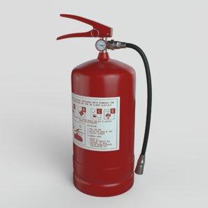 extinguisher tool industrial 3D model