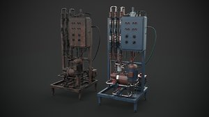 3D machinery device industrial