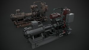 machinery device industrial 3D