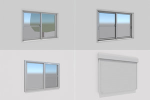 3D model window draw
