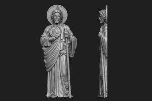 relief saint 3D