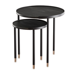 3D model coffee tables blaine nesting