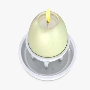 candle 3D