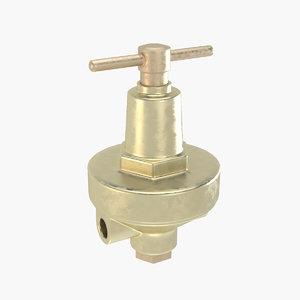 3D big valve model
