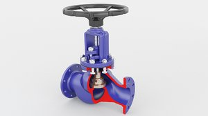 3D valve globe