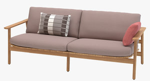 3D model kettal riva sofa
