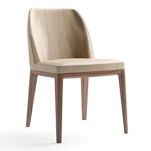 amanda chairs alivar 3D model