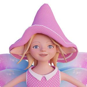 cute elf 3D model